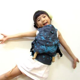 Emeibaby Wrap Conversion Doll Carrier Treemei Turquoise