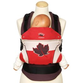 Manduca First Limited Edition Maple Leaf Ergonomic Soft Structure Baby Carrier