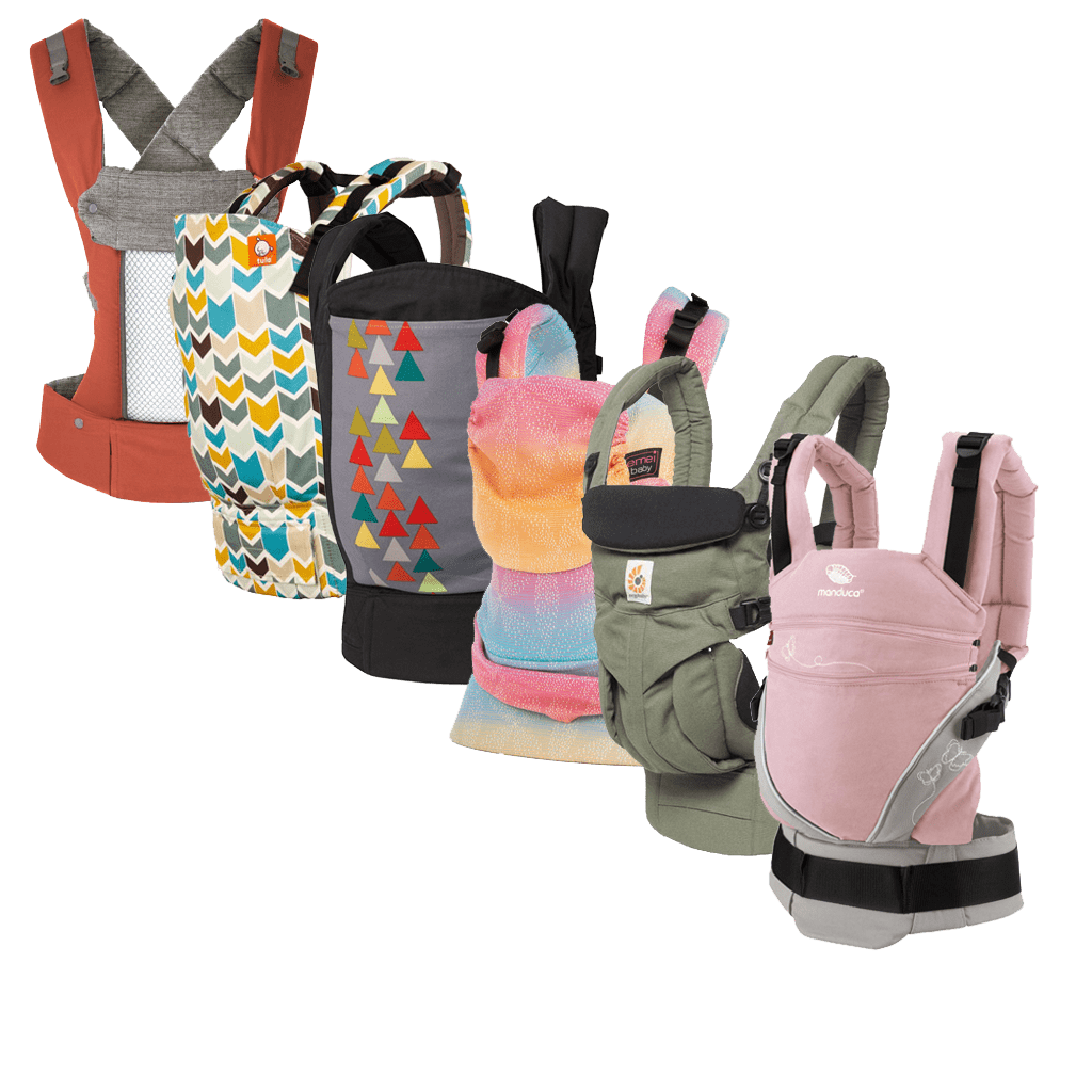 Wide variety of baby carriers to choose from
