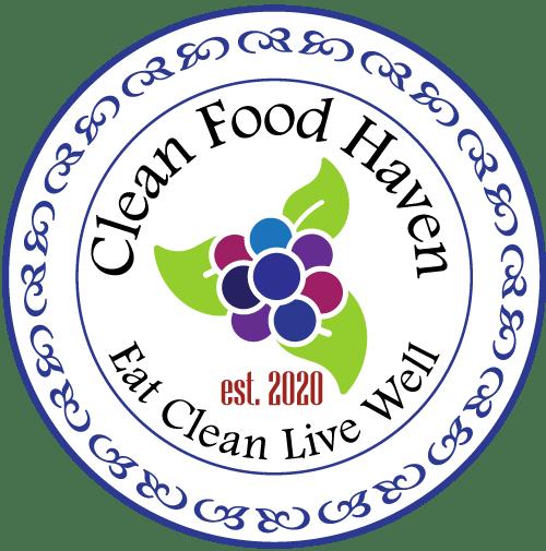 Clean Food Haven Stamp Logo